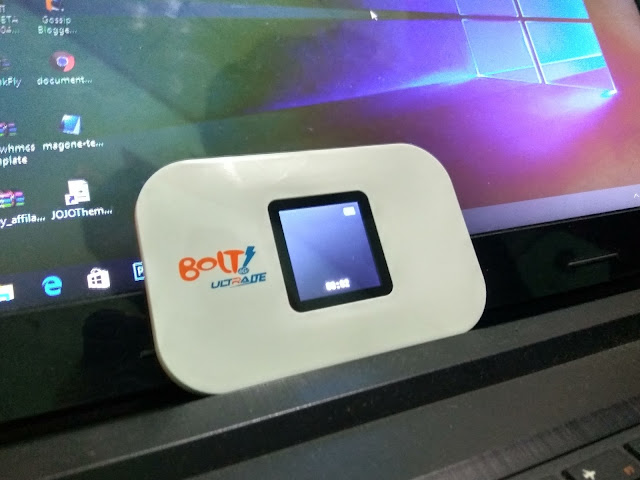 Cara mengganti password dan SSID Modem Bolt slim Max