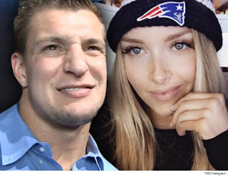Rob Gronkowski and Camille