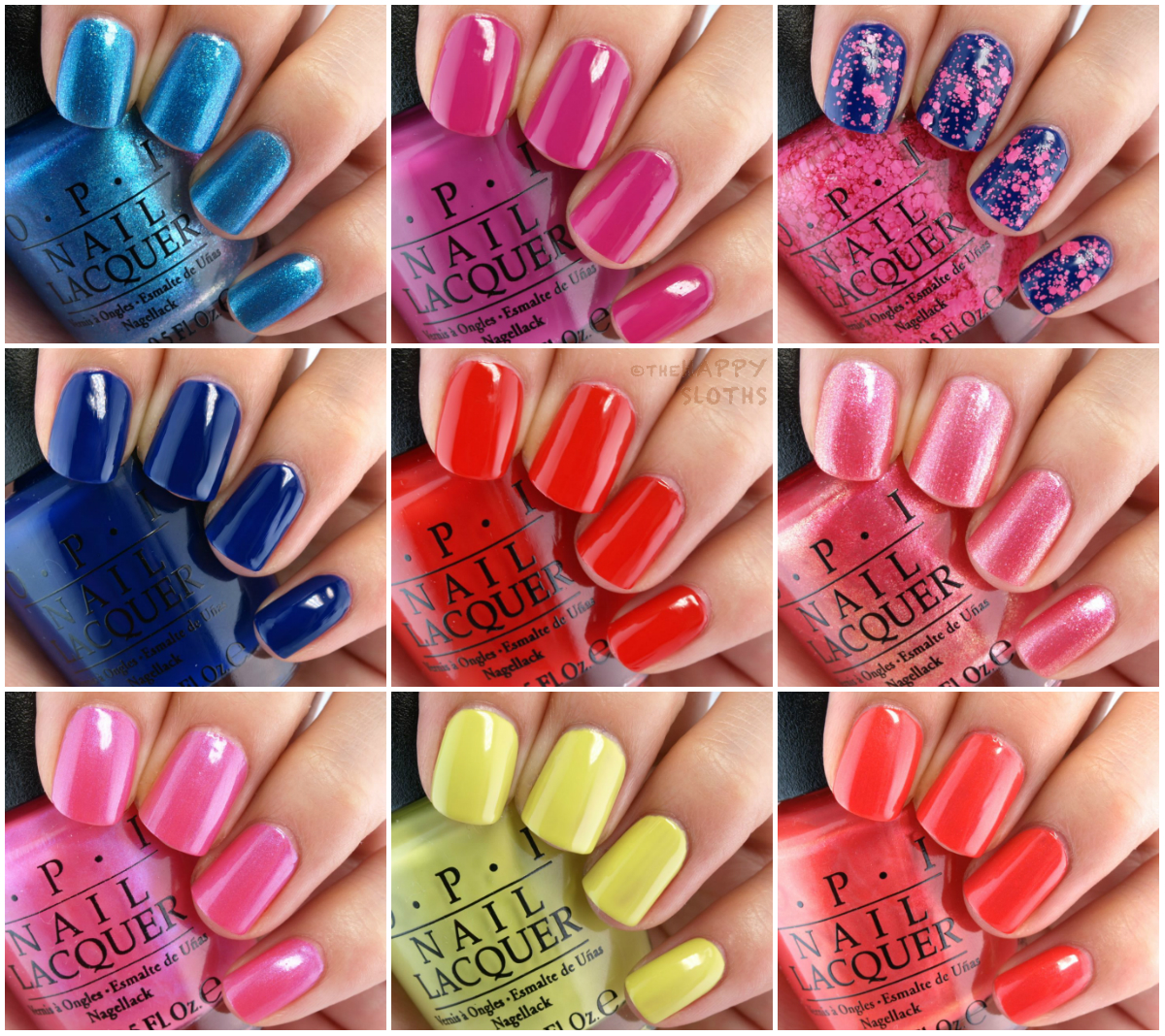 OPI Brights 2015 Summer Collection: Review and Swatches