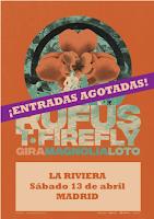 Rufus T. Firefly agota entradas para su concierto en La Riviera