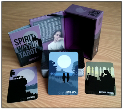 Spirit Within Tarot review Strength Queen of Swords Six of Cups Steven Bright blog blogger