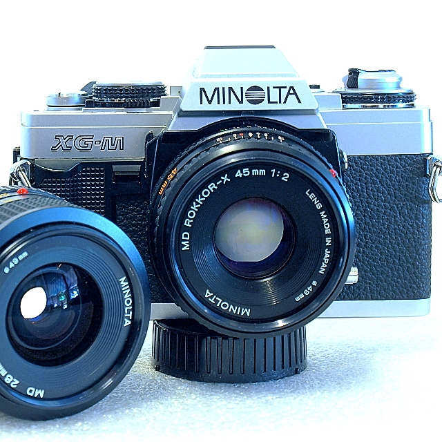 Minolta XG-M 35mm MF SLR Film Camera