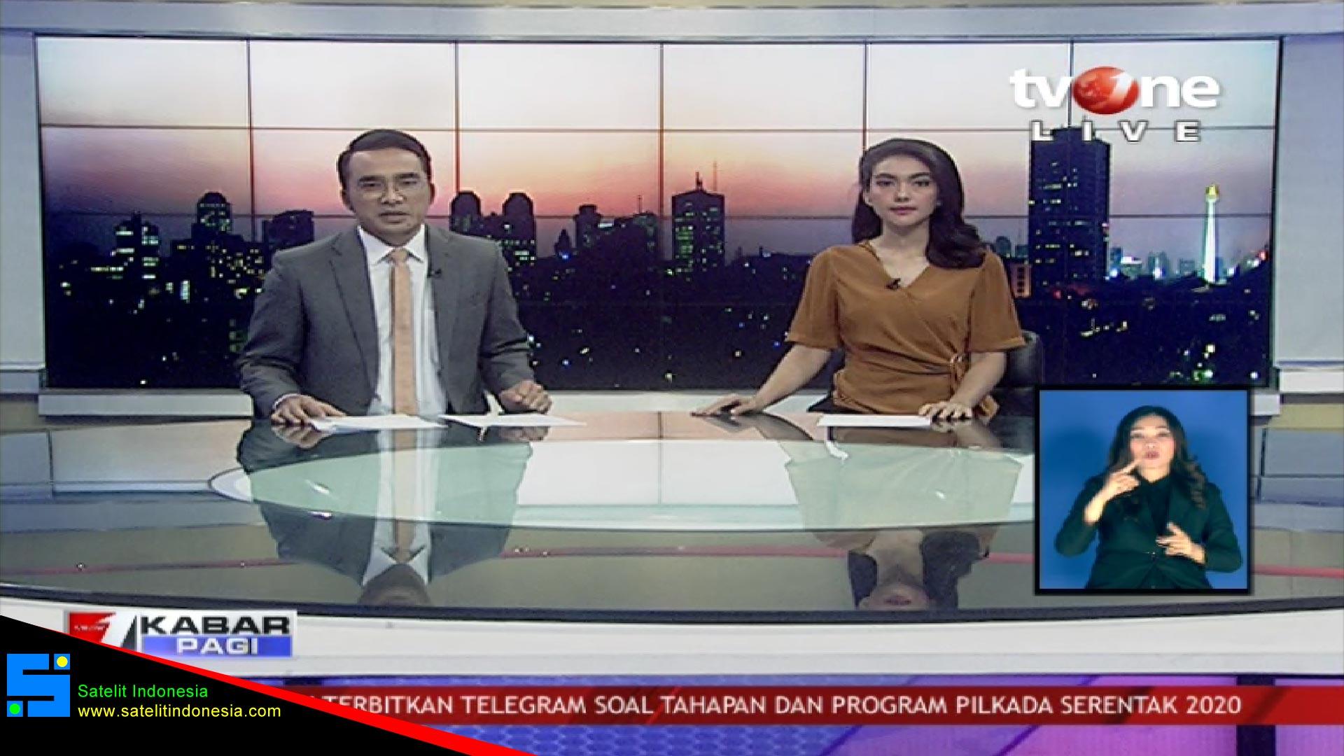 Frekuensi siaran TV One di satelit Telkom 4 Terbaru