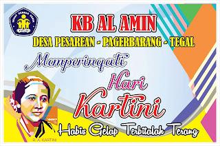 Contoh Desain Banner atau Spanduk Hari Kartini
