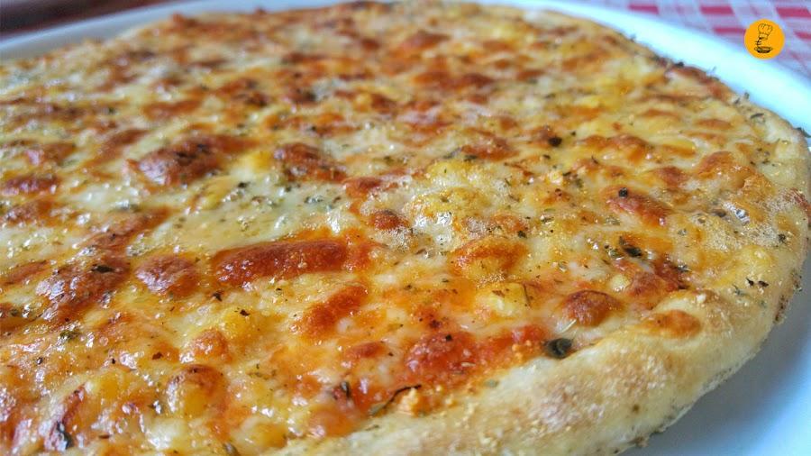Pizza Cuatro Quesos La Pizza Italia Moratalaz