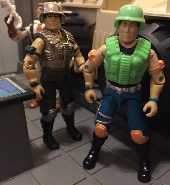 1990 Rapid Fire, 1988 Super Trooper, Mail Away, Blizzard