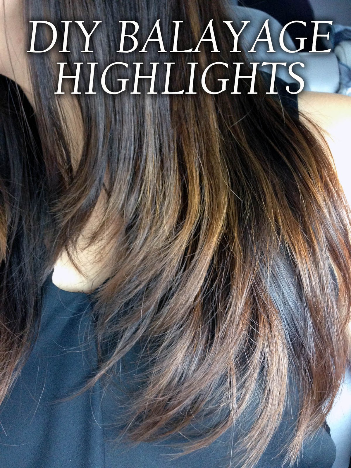 Mrsmommyholic diy balayage highlights diy balayage highlights the last time i had my hair colored was almost 2 years ago so its basically all grown out now except for a little left at the solutioingenieria Choice Image