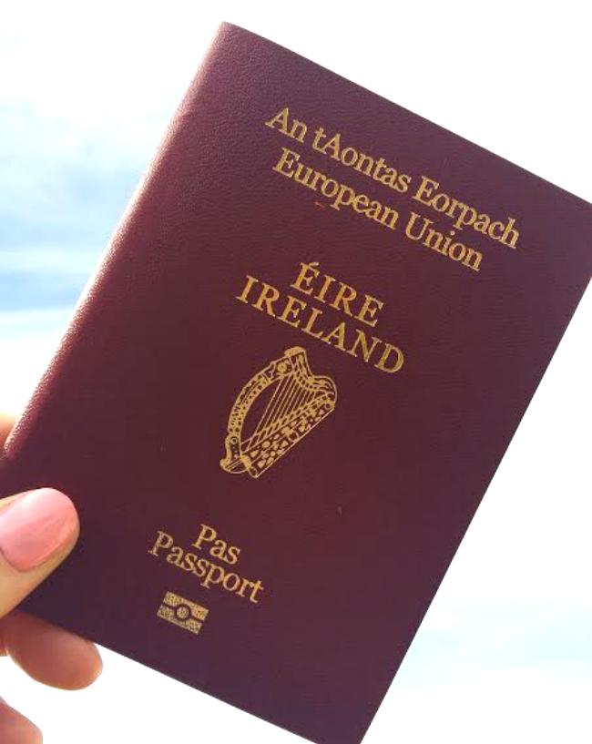 Cherrysue Doin The Do Irish Passports The Definitive Guide