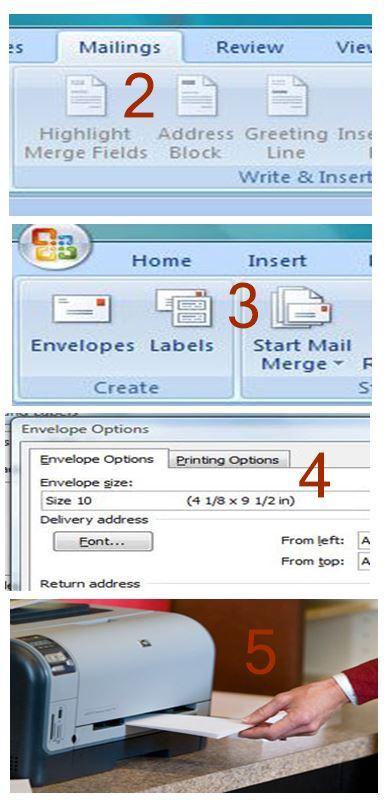 Cara Mudah Mencetak Amplop di Printer