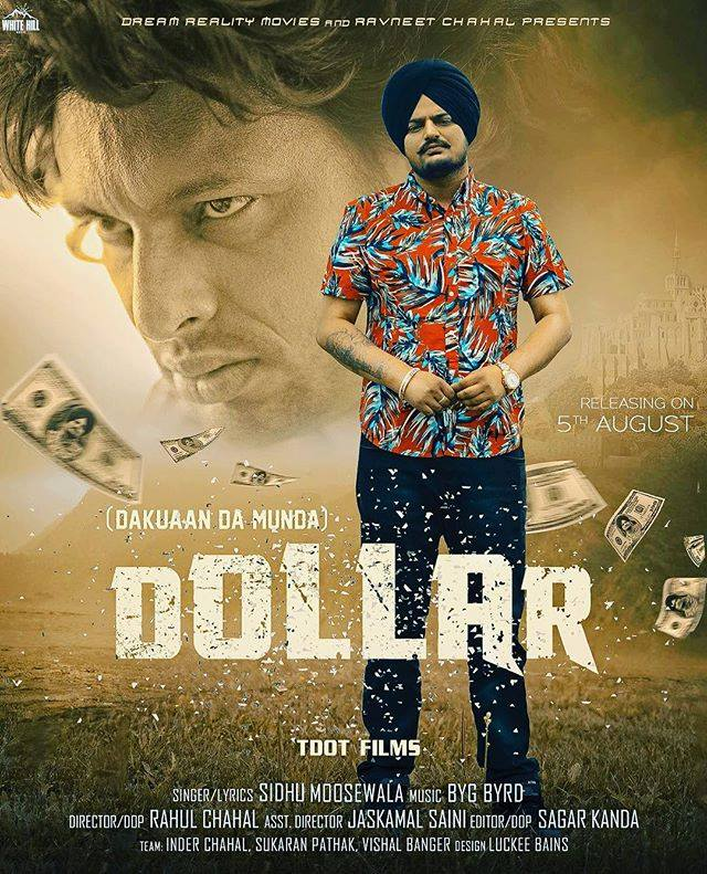 Dollar  Sidhu Moose Wala  new song