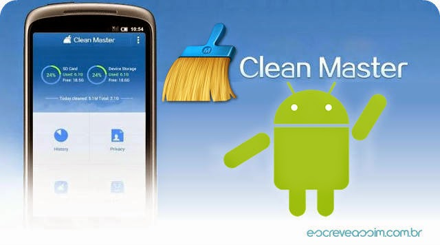 "تحميل مجانى افضل تطبيق لتسريع هاتف اندرويد كلين ماستر  "" download clean master for android"