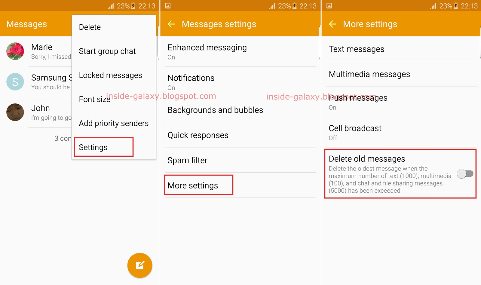 How To Use The Auto Delete Old Messages Feature In The Messages App? You  Can Do So By Using The Following Steps: