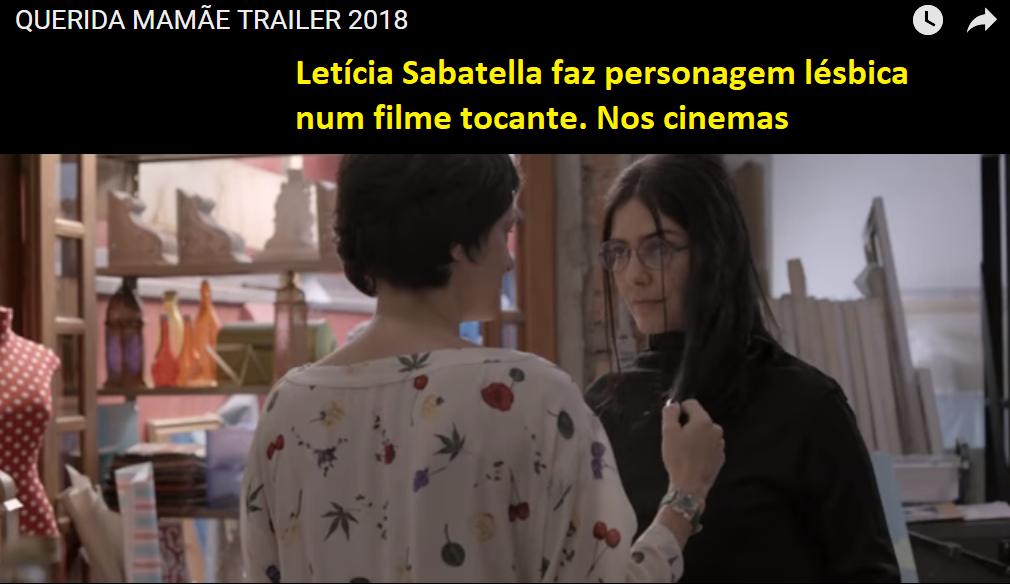Letícia Sabatella em filme com tema lésbico  f5bd42dcf7b88