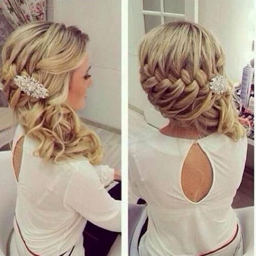See more This is a beautiful braid for a wedding