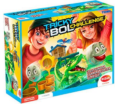 TRICKY BOL Challenge Juego de Mesa | Tricky Juegos  Producto Oficial 2018 | Bizak 30690070 | Jugadores: +1 | Edad: 5-8  COMPRAR ESTE JUGUETE