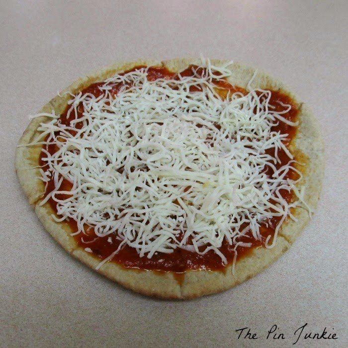 Pita Bread Pizza
