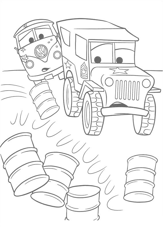 disney car coloring pages - photo#21
