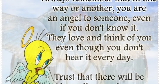 The Most Beautiful Thing To Hear When You Tell Someone You: You Are A Beautiful Angel To Someone
