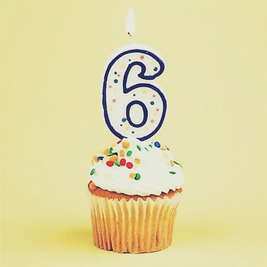 6 anos de Blog!