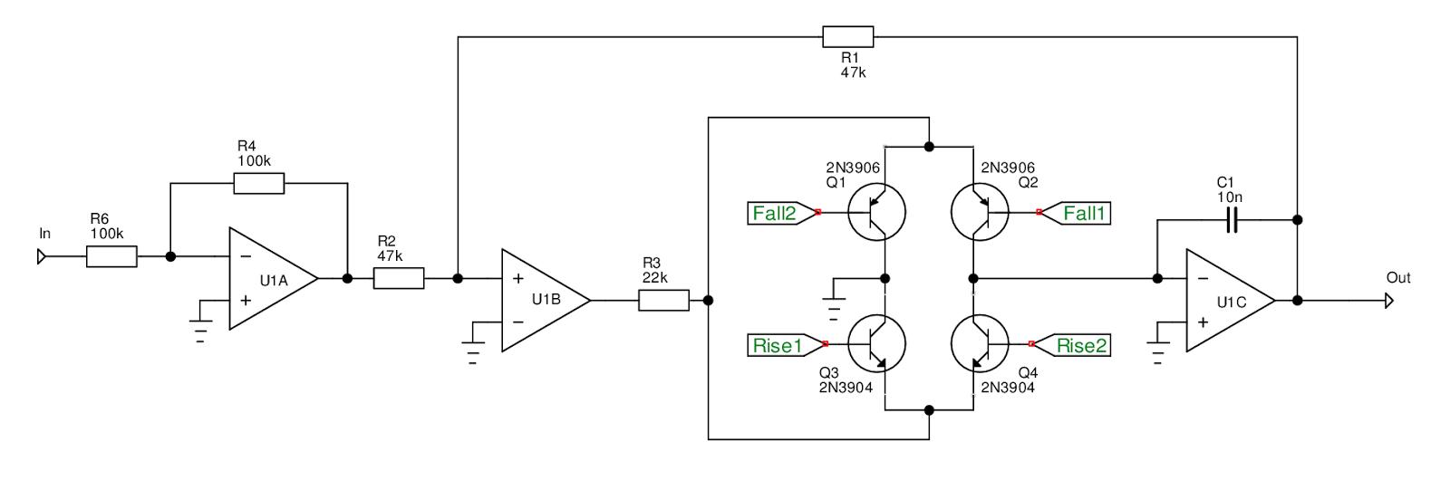 kassutronics slope generator rh kassu2000 blogspot com Adjustable Voltage Regulator Circuit LM7805 Voltage Regulator Circuit