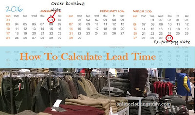Lead time estimation