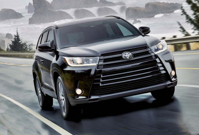 2018 Toyota Highlander Hybrid LE, XLE And Limited