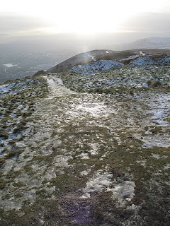 Christmas, Northern Ireland, Cave Hill