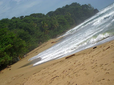 Playa de Cocles en el Caribe de Costa Rica