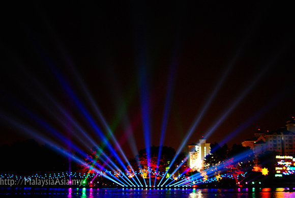 Putrajaya Magic of the Night Boat Parade
