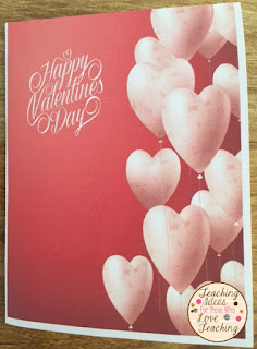 Here Is A Free Valentineu0027s Day Card, That You Can Give To Your Students.  Itu0027s Also Perfect To Use For Your Own Children To Give To Their Classmates.