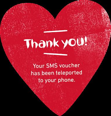 Nandos Malaysia Free Chicken SMS Voucher