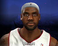 NBA 2K14 LeBron James Cyberface HD