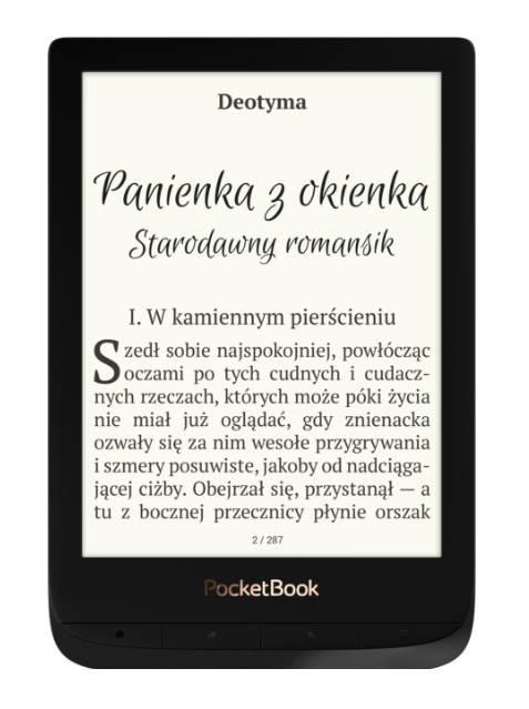 PocketBook Touch Lux 4 w kolorze czarnym