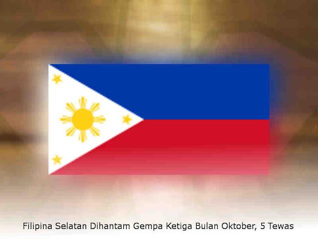 Filipina Selatan Dihantam Gempa Ketiga Bulan Oktober, 5 Tewas