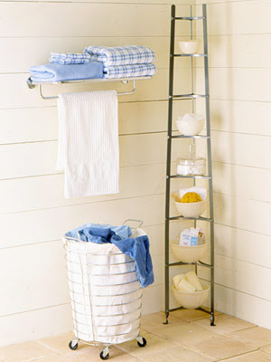 Mad About Pink Storage Solutions For Tiny Bathrooms