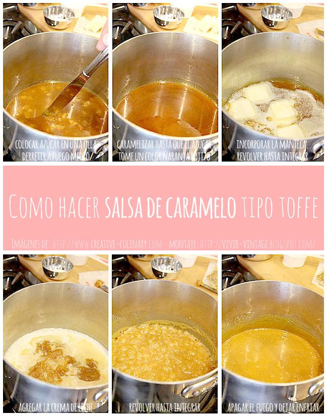 foto tutorial salsa de caramelo