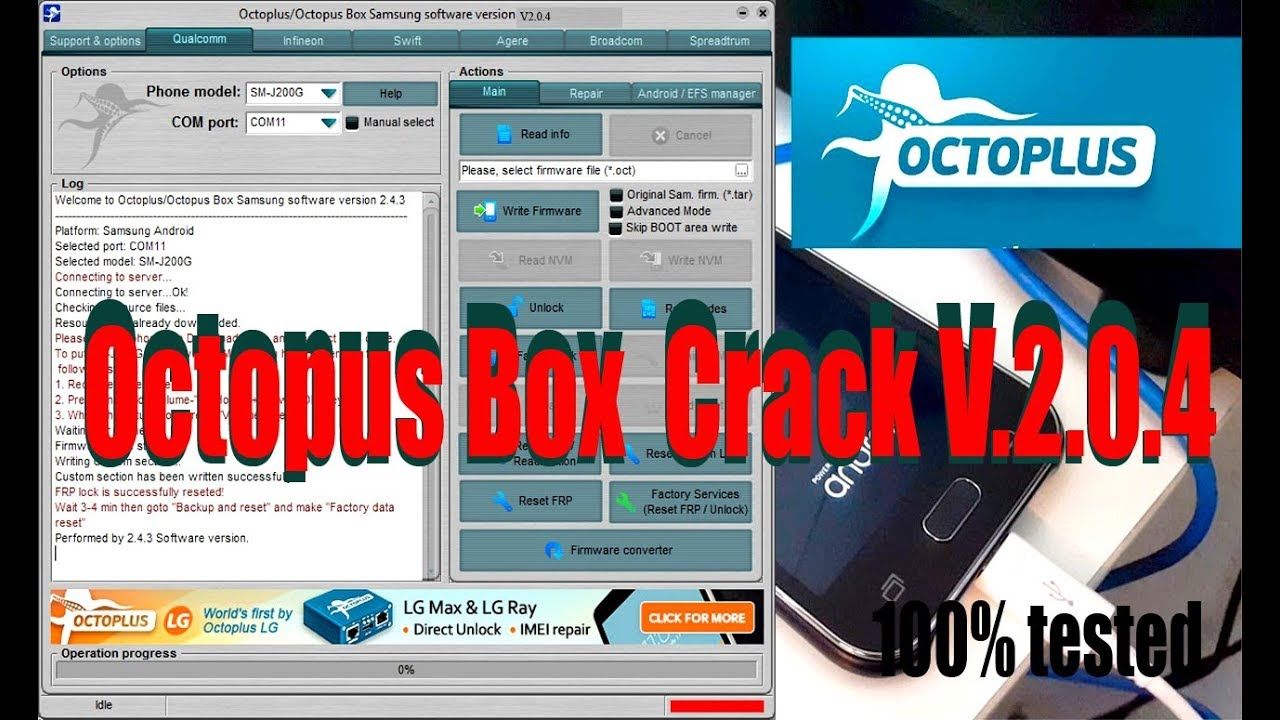 octopus box samsung v204 full cracked free download
