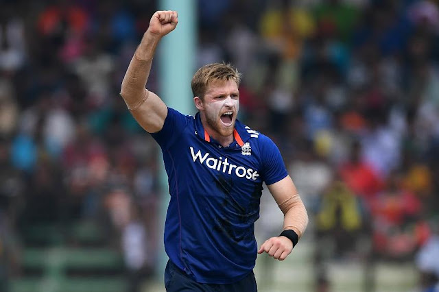 Icc champions Trophy 2017, David Willey