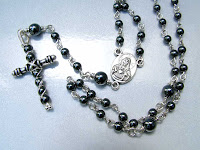 Hematite Rosary and Cross