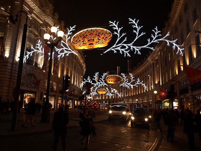 regent street towards piccadilly circus