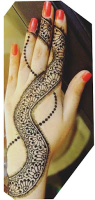 Jewellery Mehndi Design