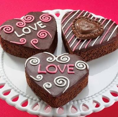 Gambar Resep Kue Coklat Hati Spesial Valentine