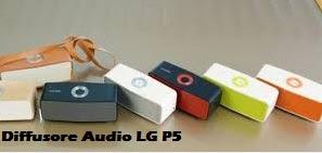 Diffusore audio P5 - Novità Fuori Salone 2016 da LG