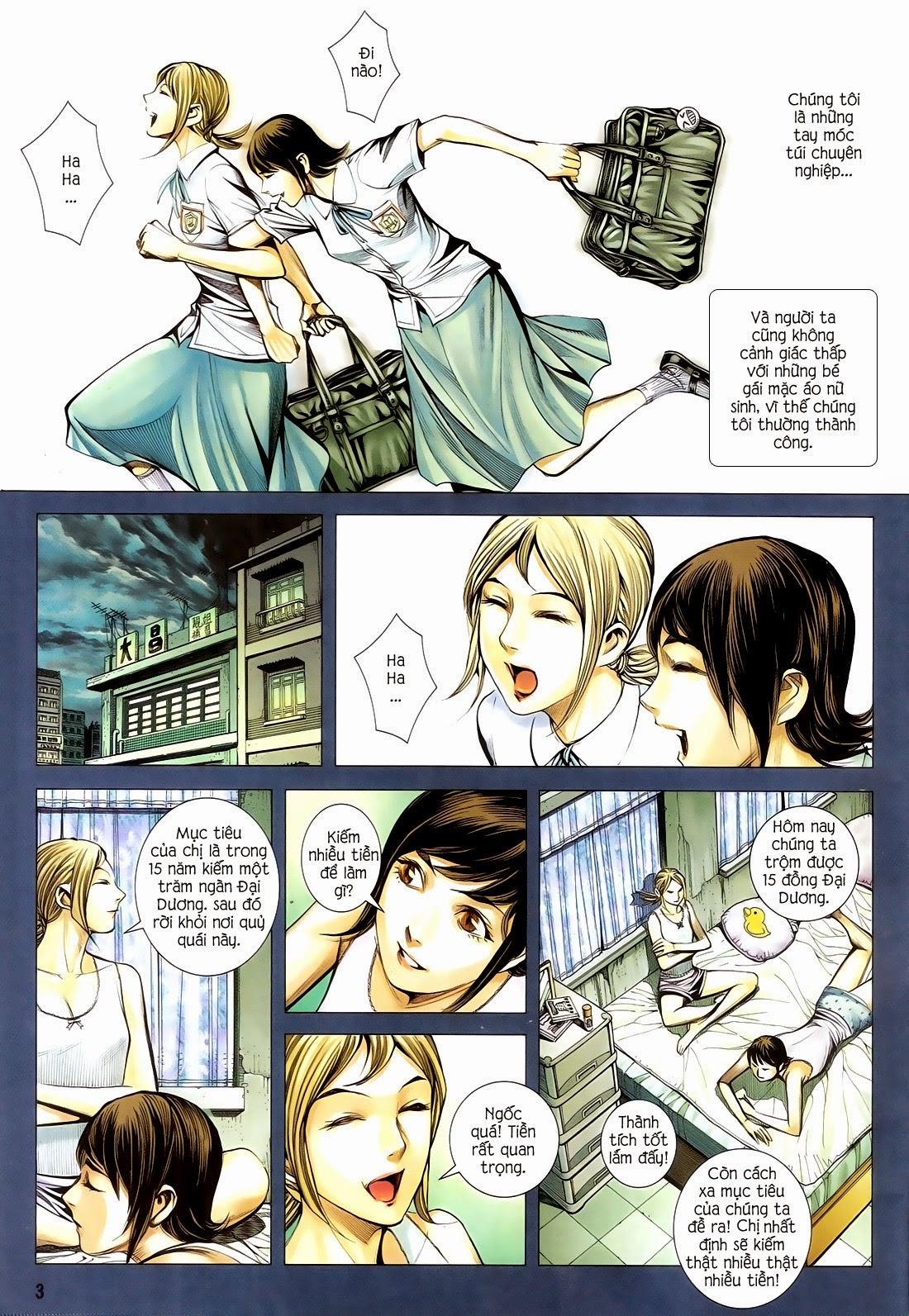 Đại Quân Phiệt chap 14 trang 3