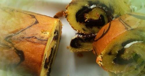 Resep Cake Gulung Kukus Coklat: Resep Membuat Kue Bolu Gulung Kukus Coklat Keju Lembut
