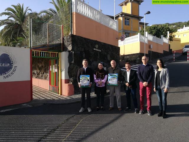 Villa de Mazo es el primer municipio de La Palma con todos sus centros escolares cardioprotegidos