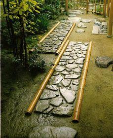 Tipos de Caminhos de um Jardim Japonês
