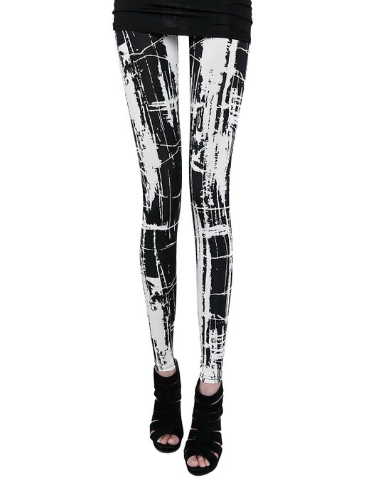 Yacun elastic leggings