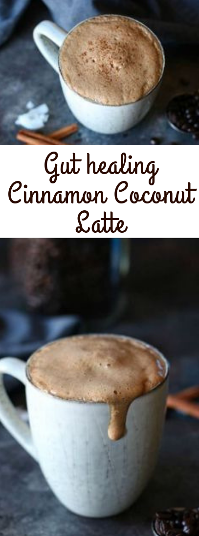 Gut-healing Cinnamon Coconut Latte