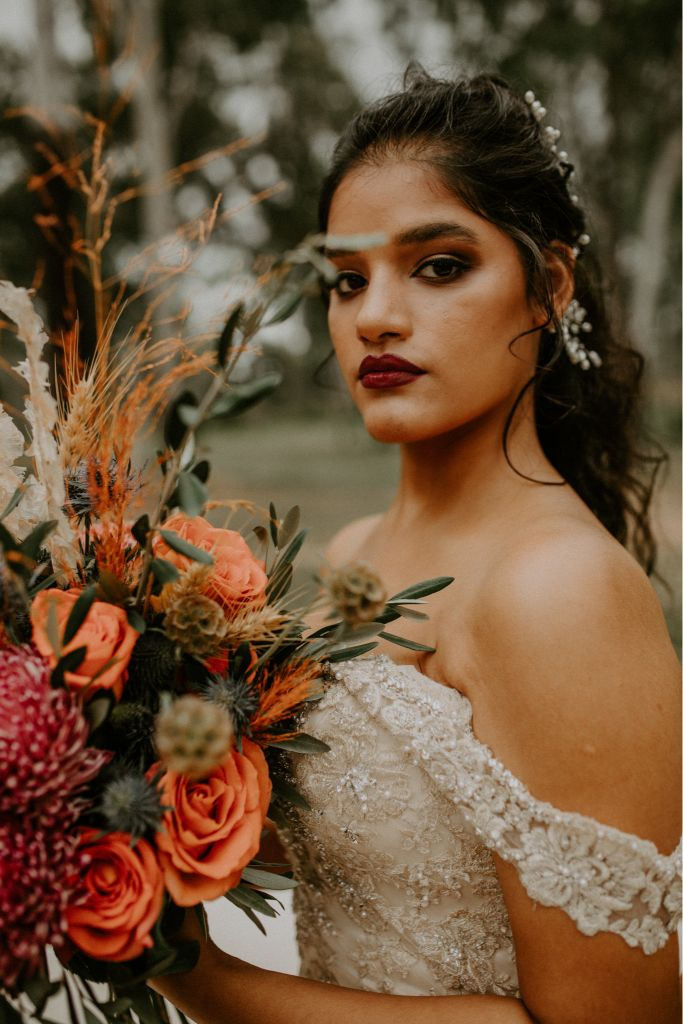 camilla french photography townsville wedding bridal hair makeup gowns florals styling